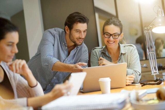 colaboración en espacios de coworking