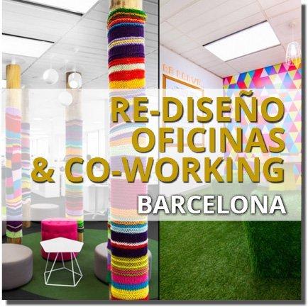 REDISEÑO OFICINAS Y COWORKING