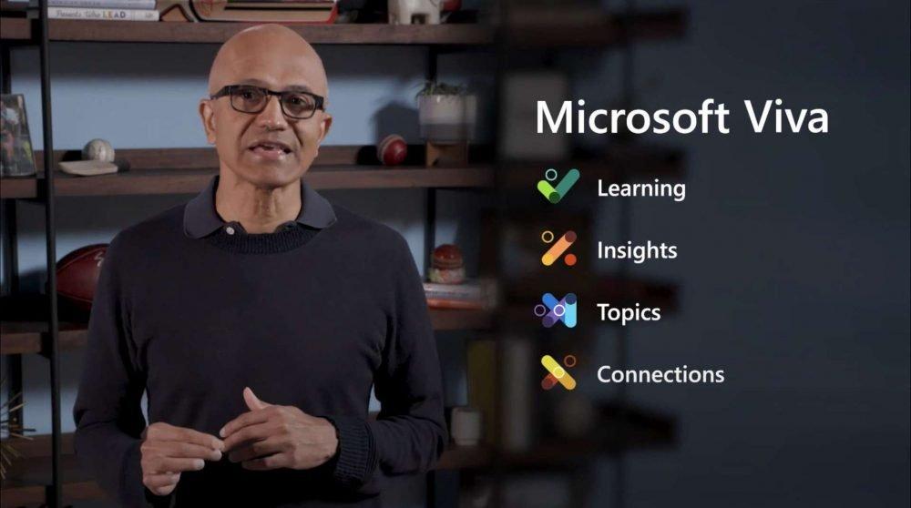 Microsoft Viva - aplicación para teletrabajo