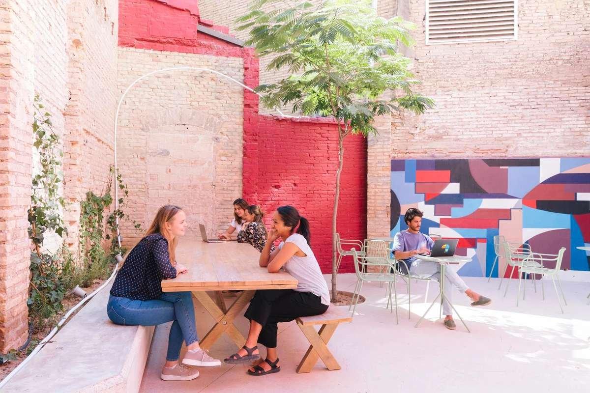 WayCo Coworking en el barrio de Ruzafa de Valencia